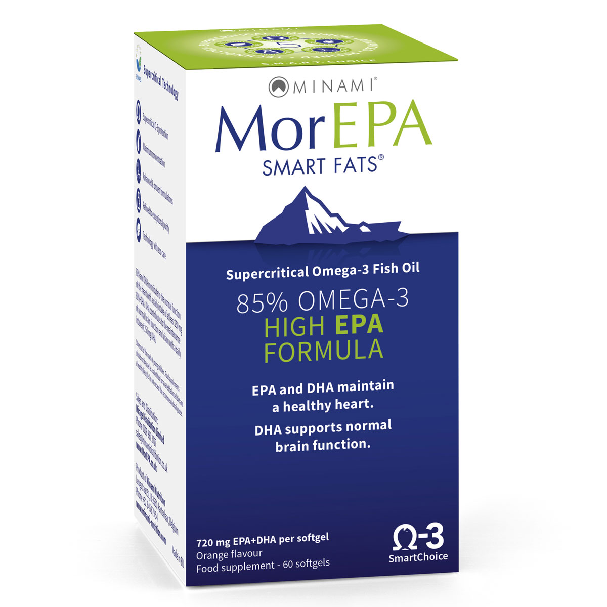 MorEpa Smart Fats Fish Oils | Fish Oils | Omega-3 | Shield Health